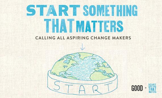 Start something, that matters